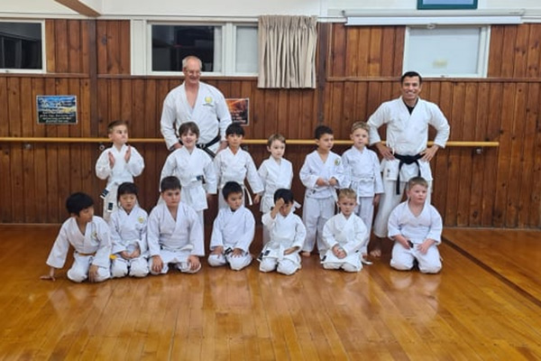 Little Tigers - their focus and confidence both increasing.